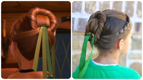 anna from frozen hairstyle anna s coronation hairstyle inspired by disney s frozen