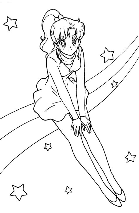 sailor moon jupiter coloring pages www pixshark com