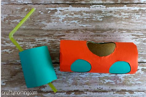 How To Make A Paper Submarine - toilet paper roll submarine craft for crafty morning