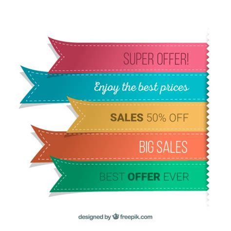 foto web ribbon banners vector free