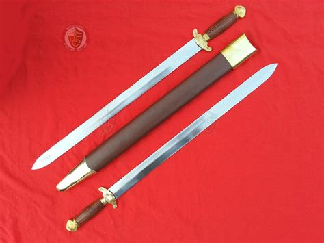 Home Decor Items Wholesale Weapons Swords Decorative Swords Chinese Dual