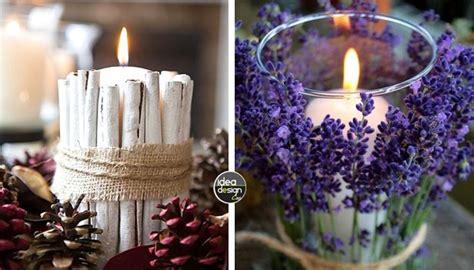 idee candele fai da te decorazioni candele fai da te 20 idee creative