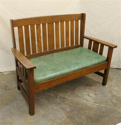 stickley bench bargain john s antiques 187 blog archive mission quarter