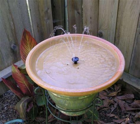 home  solar powered bird bath fountain tribe