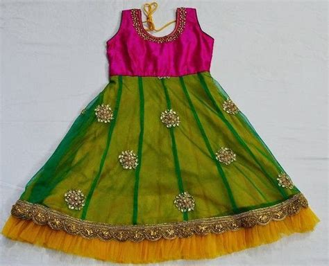 simple silk frock indian dresses baby dress