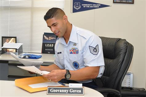 Air Officer Recruiter by In His Words Tech Sgt Geovanny Govea Gt Dobbins Air