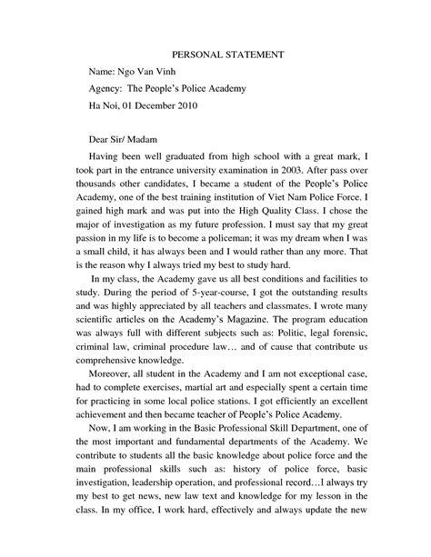 high school personal statement sle essays 28 images 9 graduate school personal statement