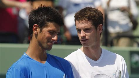 Friends reunited: How Andy Murray Novak Djokovic