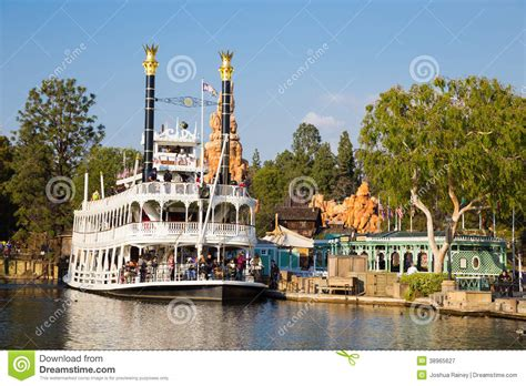 boats unlimited new orleans disneyland river cruise boat editorial photography image