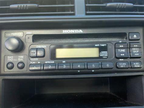reset honda civic radio how to reset radio code on a honda release date price