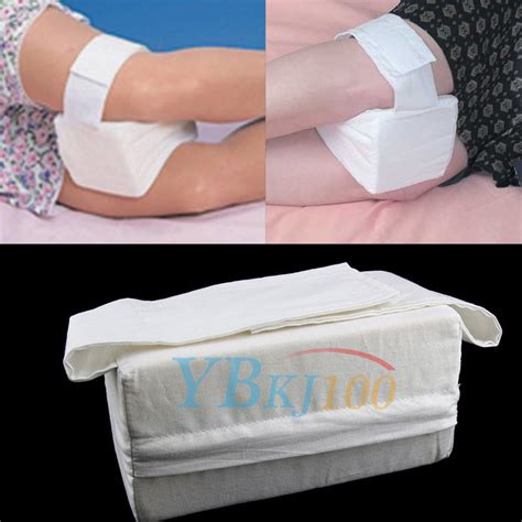 Knee Pillow Sleeping by Knee Ease Pillow Cushion Ankle Pads Sponge Soft Bed