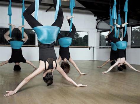 yoga swing jakarta yoga swing jakarta floating yoga foto 6 tribun images