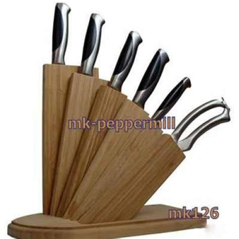 kitchen knives holder wooden bamboo kitchen knife rack kitchen knife holder