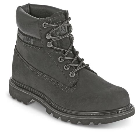 Sepatu Boot Almost Wolfrin Black cat footwear s colorado casual boots 662875 work