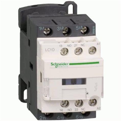 Kontaktor Contactor Schneider 80a 3p 220v Lc1d80m7 Lc1 D80m7 contactor schneider electric lc1d09bd 3p 09a no nc 24vdc