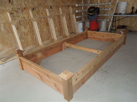 cedar raised garden bed plans pdf how to build vegetable garden planter boxes plans free