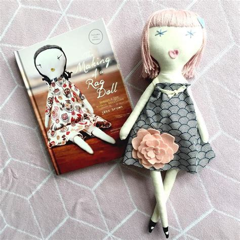 rag doll book 24 best jess brown pattern dolls images on