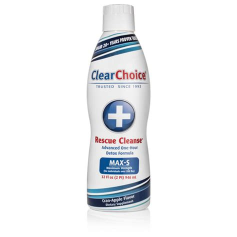Clear Choice Detox Near Me by Clear Choice Rescue Cleanse 32oz Leafbuyer