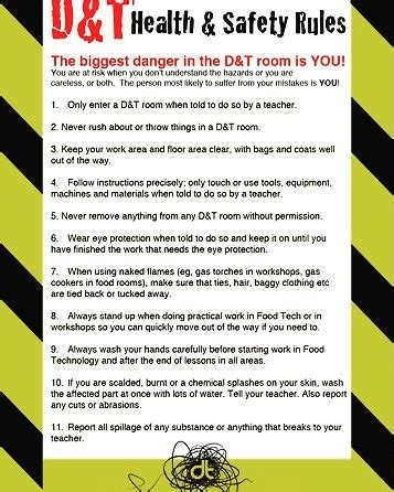 design poster rules d t health and safety rules poster a very useful poster