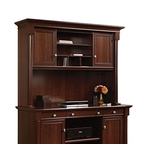 palladia wardrobe armoire select cherry finish sauder palladia hutch does not include desk in select cherry