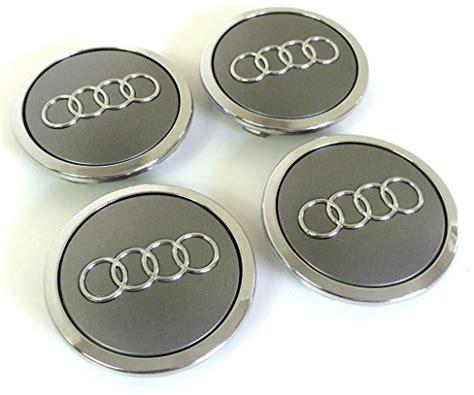 Audi Alufelgen Abdeckung by Set Of Four Audi Alloy Wheels Centre Hub Caps Grey Covers