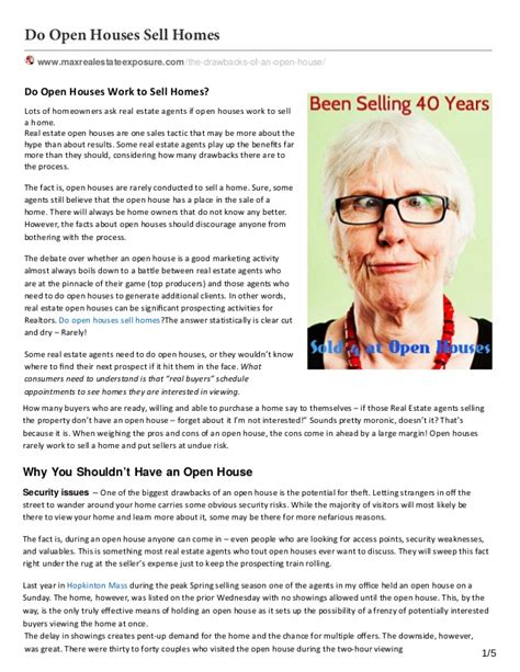 do open houses sell homes do open houses sell homes 28 images do open houses really sell a listing when