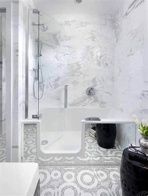 small walk in bathtub best 25 bathtub in shower ideas on pinterest shower
