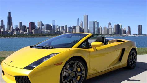 Chicago Lamborghini Rental Car Rentals Chicago Lamborghini Ferraris Porsche