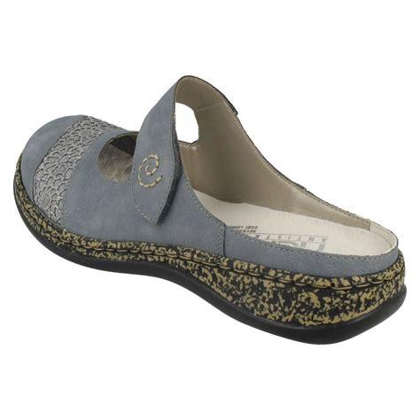 open back flat shoes rieker open back flat shoes 46303 ebay