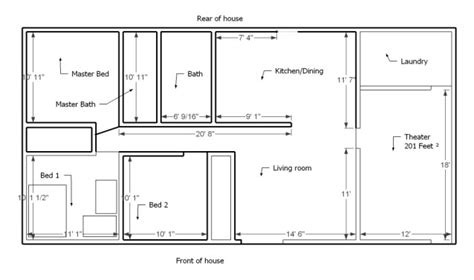 layout of house home layout determining the best small home layouts home