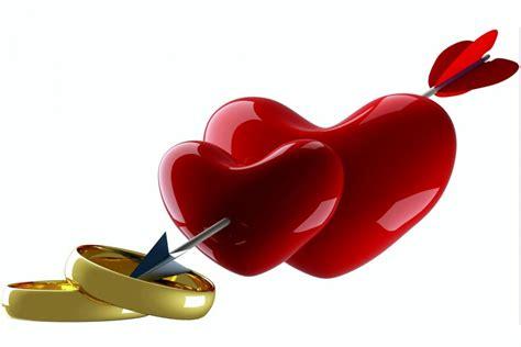 imagenes de 2 corazones unidos corazones y anillos unidos con una flecha 69958