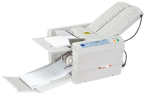 Used Paper Folding Machine For Sale - mbm 307a automatic programmable tabletop paper folding machine