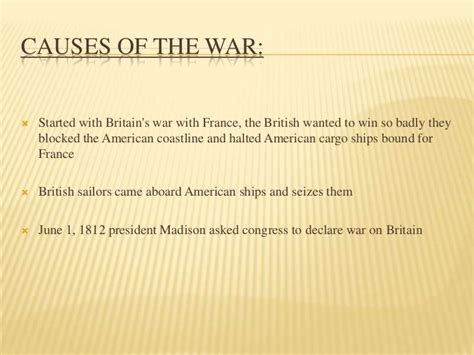 The War Of 1812 Essay by Essay War Of 1812