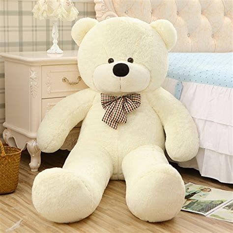 Boneka Polar Soft Animal Doll White Teddy Be Bisa Gojek yxcsell yxcsell 3 ft 39 inches white soft plush