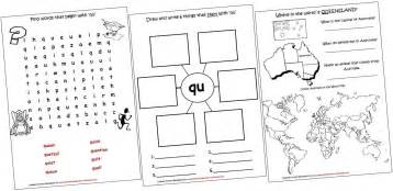 digraphs lapbook and worksheets qu iman s home