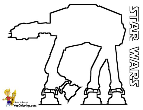 imperial walker coloring pages free coloring pages of wars at at walker