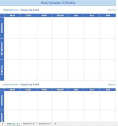 70 free schedule amp planner templates word excel