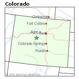 best places to live in alma colorado