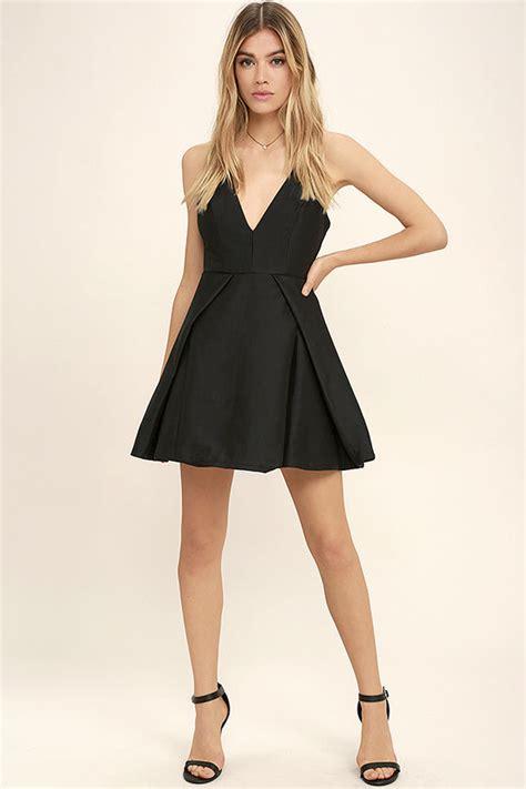 Dress Meow Black To black dress lbd skater dress dress 64 00