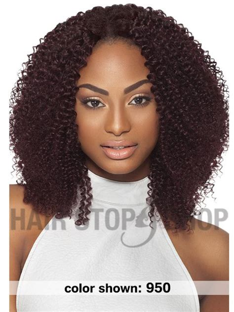 950 hair color outre premium purple pack human hair weave baby soft 10