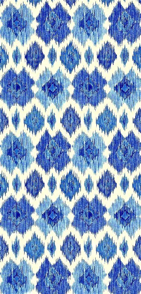 Ikat Muster Ethno Design