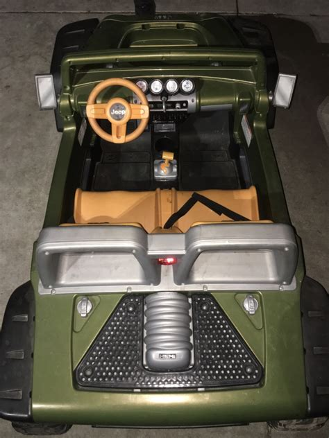 Jeep Hurricane Battery Upgrade Letgo Power Wheels Jeep Hurricane W B In Santa Ca