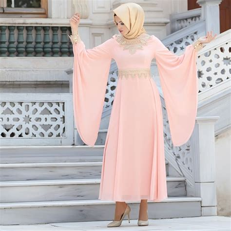 Nayla Scarf arabic style nayla collection evening dress 4173smn