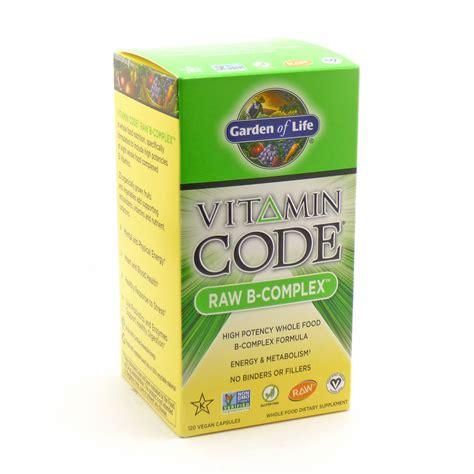 Garden Of Vitamin B Complex B Complex Vitamin Code By Garden Of 120 Capsules