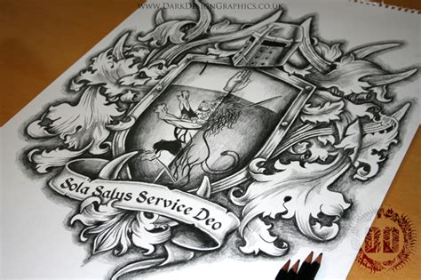 family crest tattoo designs family coat of arms design design graphics