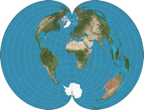 conic map american polyconic projection