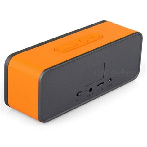 Speaker Subwoofer Mobil Advance Hifi Bass gs805 subwoofer bass hi fi portable wireless bluetooth speaker orange free shipping dealextreme