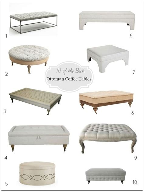 console table with ottomans the 25 best tufted ottoman coffee table ideas on