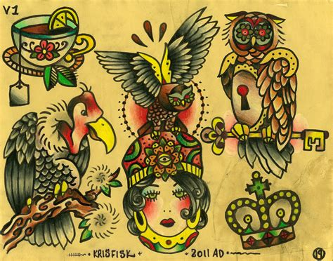 good tattoo design flashes for www topsimages