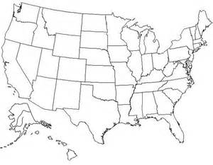 best photos of large blank united states map blank